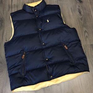 Polo Ralph Lauren Reversible Down Puffer Vest